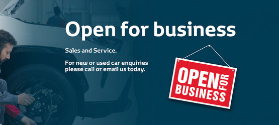 Tony Burke Motors Sales & Service  Now Open for Business.