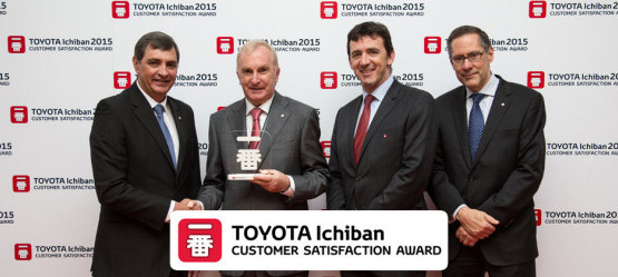 Toyota Motor Europe awards Tony Burke Motors Galway as one of the top performing Dealers in Europe for customer satisfaction